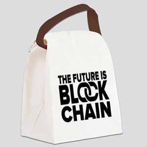 The Future is Blockchain Canvas Lunch Bag